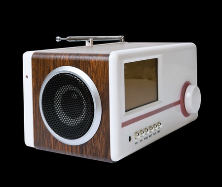 cardreader: Audio box for mobile phones and laptops with card-reader, amplifier and MP3 player