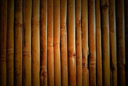bamboo wall nature background photo