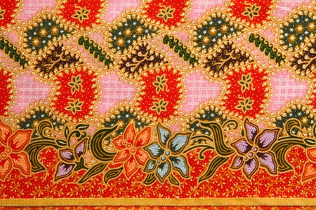 Pattern texture of general traditional thai style native fabric weave  photo