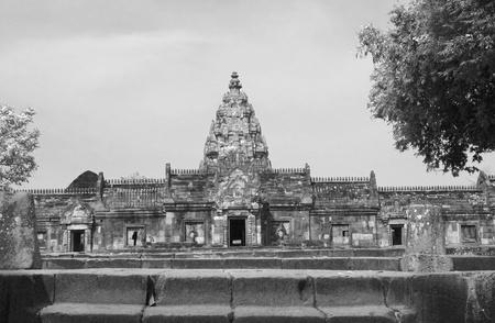 buriram: Ancient castle in Phanom Roonk historical park,  at Buriram province Thailand.