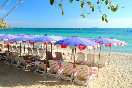 Samae beach, Koh  Larn Island, Pattaya City Chonburi Thailand  Stock Photo