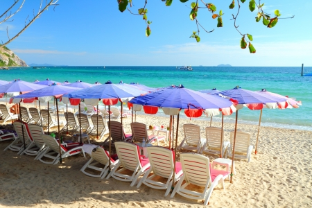 Samae beach, Koh  Larn Island, Pattaya City Chonburi Thailand  Stock Photo
