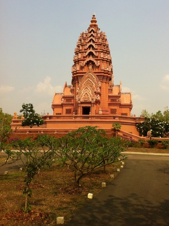 buriram: The ancient temple in buriram Stock Photo