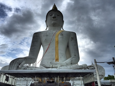 thailand culture: Big buddha in thailand
