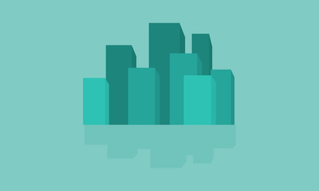 city building: Vector flat of city building illustration collection