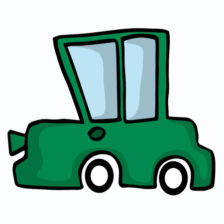 mode of transport: Various car collection vector art illustration collection Illustration