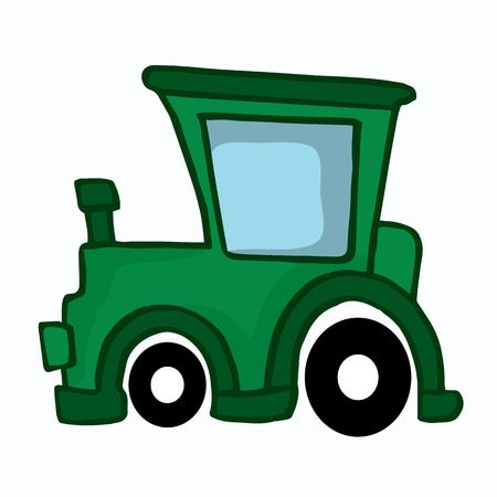 bodywork: Jeep car style design for kids vector illustration Illustration