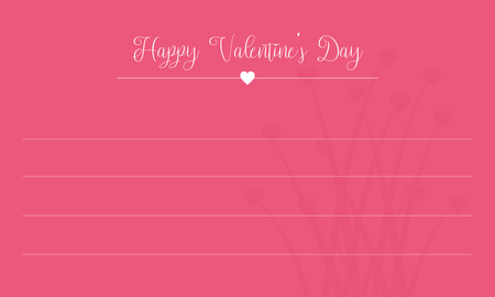 Happy Valentine Day card collection vector art
