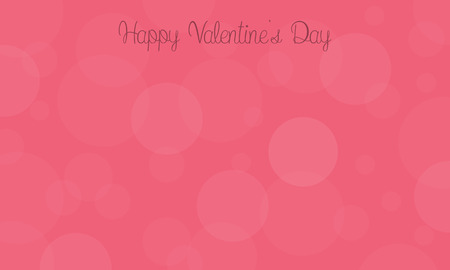 days: Happy Valentine Days with bubble vector illustration