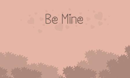 romance: Romance theme for valentine collection vector illustration Illustration