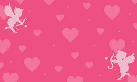 greeting card background: vector background love greeting card collection stock