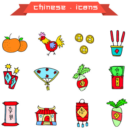fortuna: Icon of Chinese New Year Element