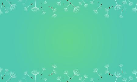 Spring theme background vector art Vectores