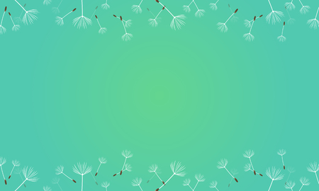 Spring theme background vector art Illustration