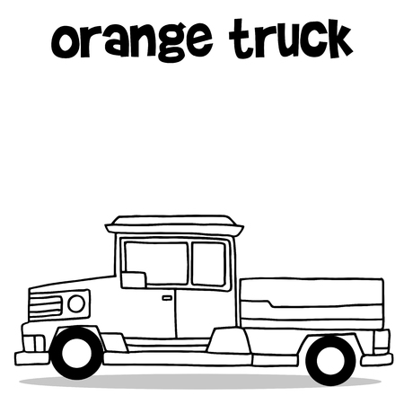 transference: Transport of pickup hand draw