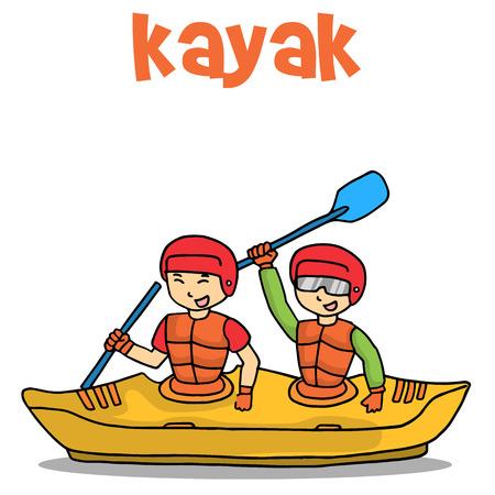 Transport of kayak flat