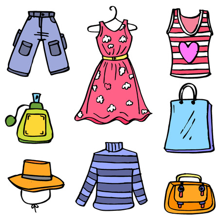 Womens fashion clothes and accessories.