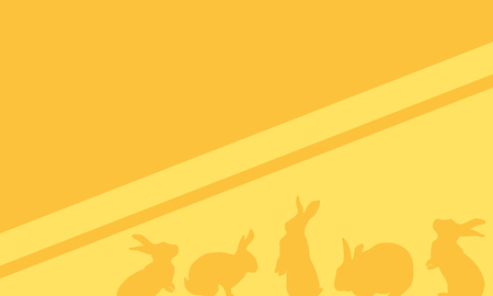 Collection of easter background style