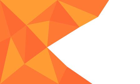 abstract art: Orange abstract background vector art