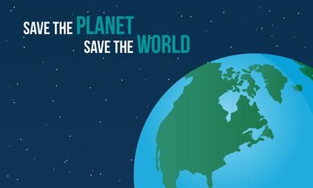globe logo: World day style background collection