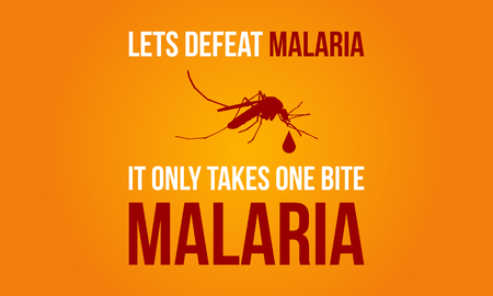 Collection Malaria Day Background Vector Art Illustration. Illustration