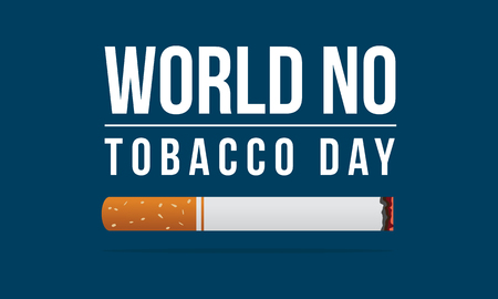 World no tobacco day and no smoking background