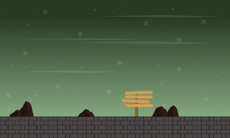 Green style game background collection Ilustrace