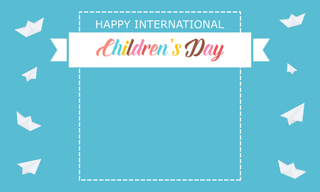baby: Background banner for childrens day