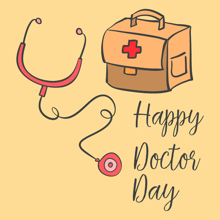 Collection stock card style doctor day
