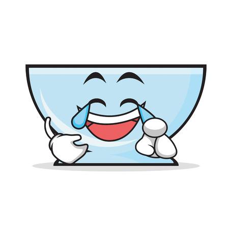 Joy bowl character cartoon style