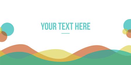 Simple design header website collection vector illustration Illustration