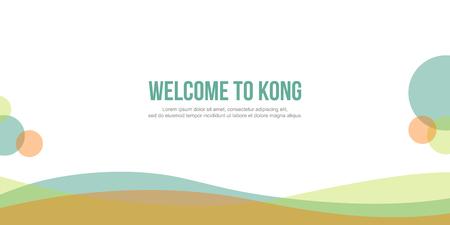 website header: Abstract background for header website simple design