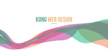 Header website abstract background design vector illustration