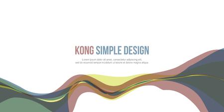 website header: Banner header website abstract modern design
