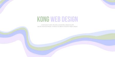 website header: Abstract header website background design vector illustration Illustration