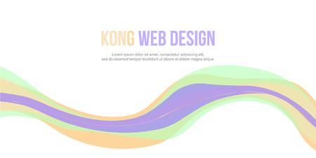 Abstract background website header simple design