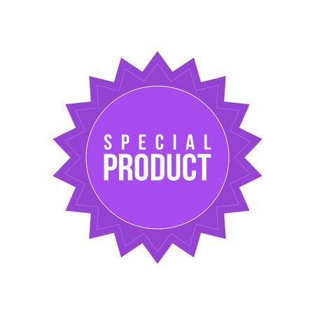 Special discount big sale price label vector illustration