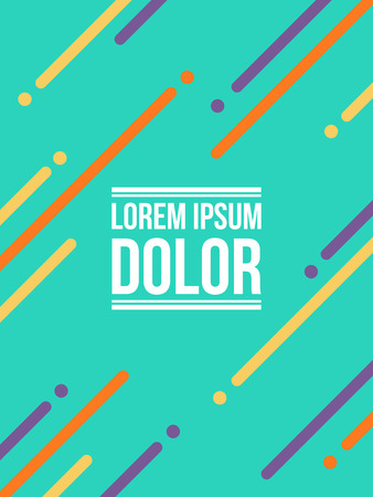 Patter background modern style collection Illustration