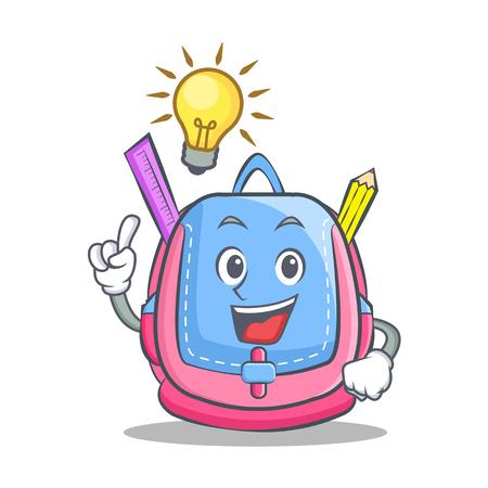 Have an idea school bag character cartoon