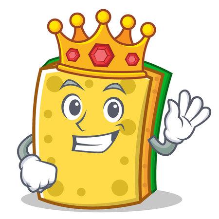 King sponge cartoon character funny