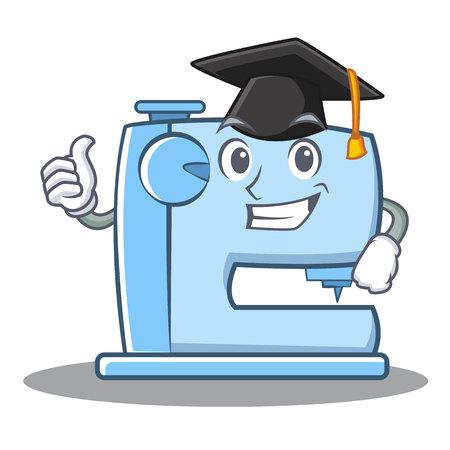 卒業ミシン絵文字文字