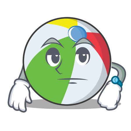 Warten Ball Charakter Cartoon-Stil Standard-Bild - 88110380
