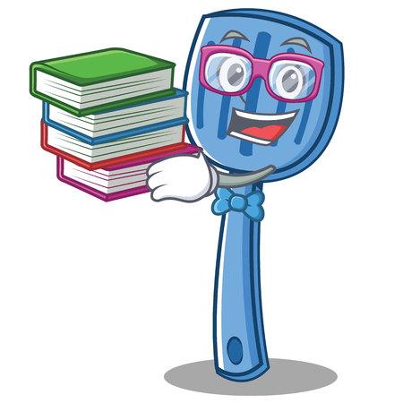 Geek spatula character cartoon style Illustration