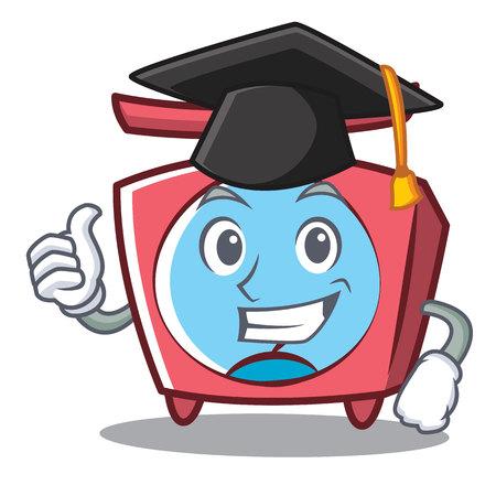 Graduation scale character cartoon style