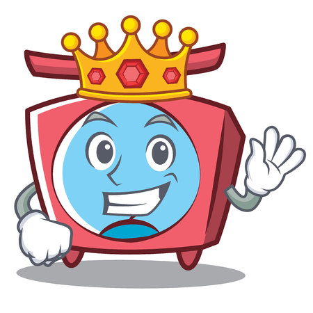King scale cartoon character.
