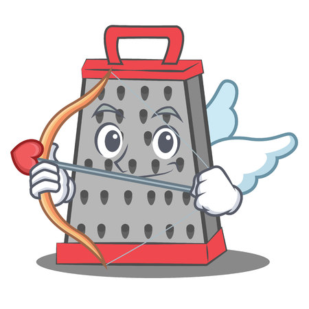 Cupid kitchen grater character cartoon