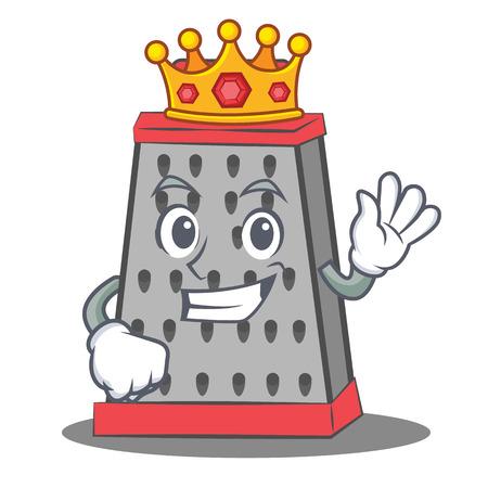Tauchen Kuche Reibe Charakter Cartoon Lizenzfrei Nutzbare