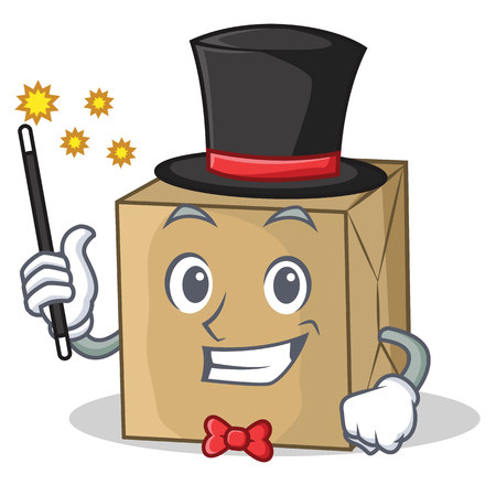Magician cardboard character character collection