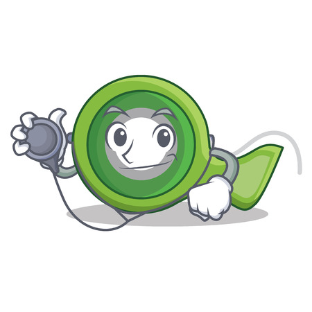 Doctor adhesive tape character cartoon