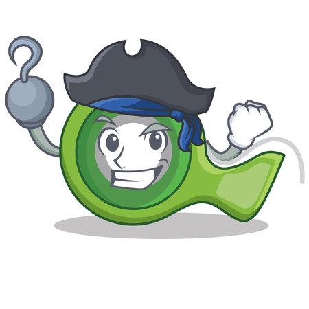 Pirate adhesive tape character cartoon